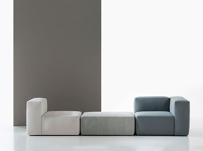 Dolmen modular sofa