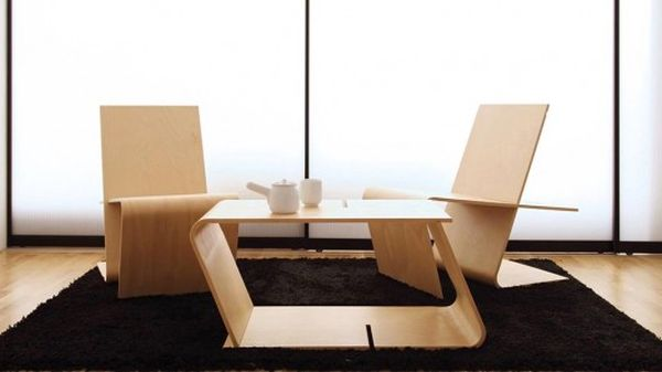 Foldable Chair and Table