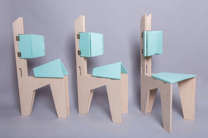 Folding chairs by Sorana Pintilie_2