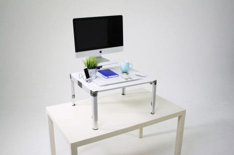 Zestdesk Standing Desk and Monitor Stand