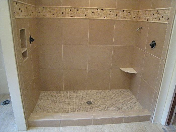 custom shower pan