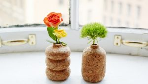Petite Cork Vases