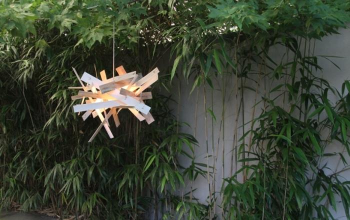Stop Motion hanging lamp