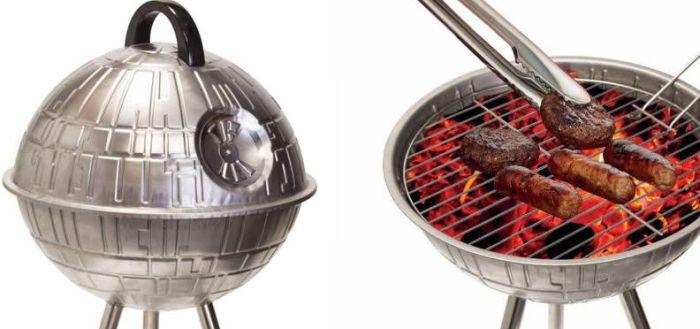 Death Star BBQ grill