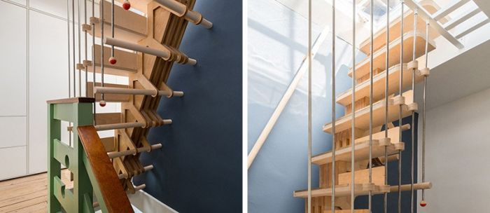 Stairs made of interlocking parts_1