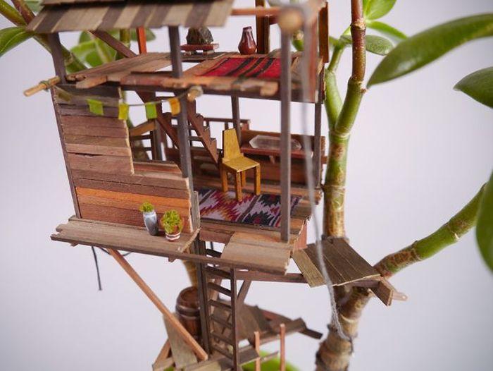 Jedediah Corwyn Voltz Treehouse Sculptures-2