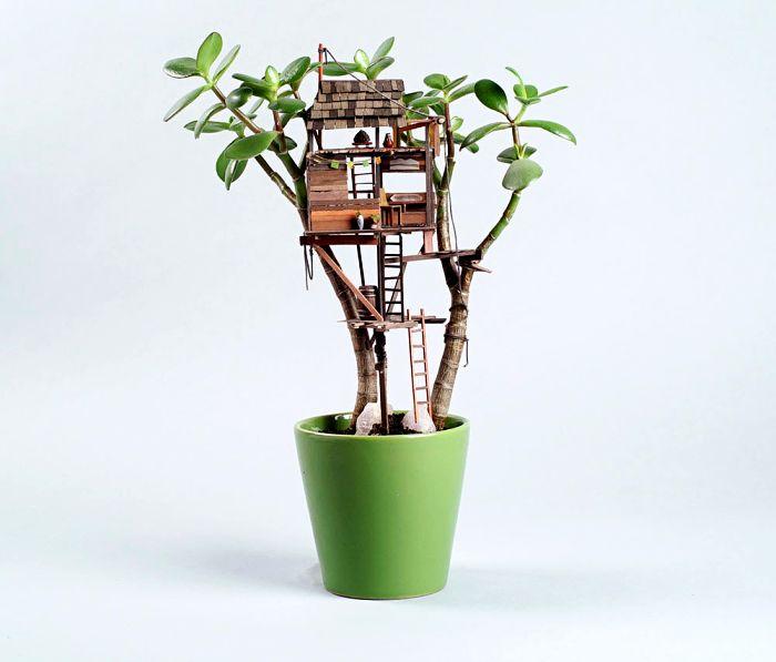 Jedediah Corwyn Voltz Treehouse Sculptures-3