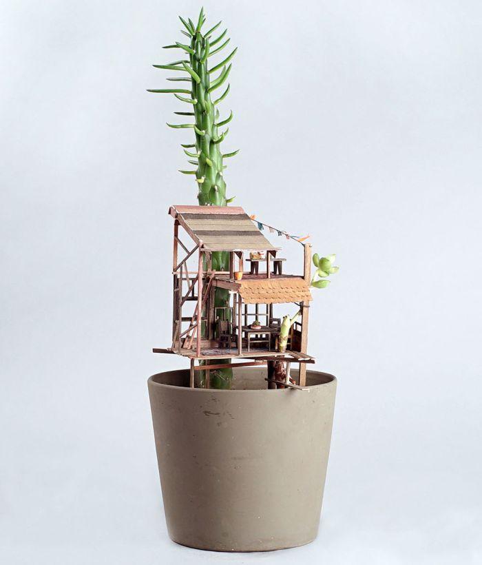 Jedediah Corwyn Voltz  Treehouse Sculptures-6
