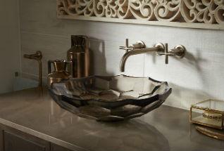 Kohler Briolette Washbasin Inspired By Precisely Cut Gemstones