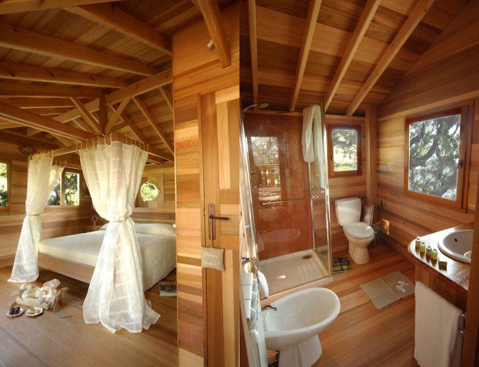 Suite Bleue Treehouse in Arlena di Castro, Italy-3