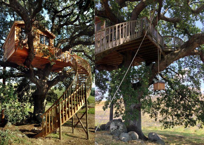 Suite Bleue Treehouse in Arlena di Castro, Italy-5