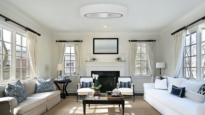 bladeless ceiling fan by exhale