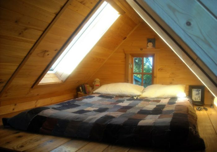84sq ft house bedroom