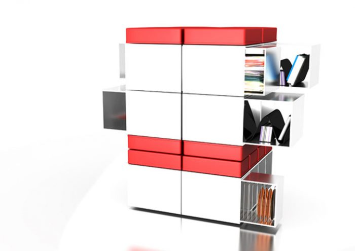 multipurpose furniture by hans design bookcase