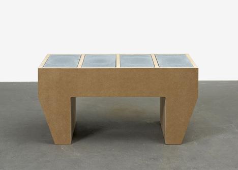 sarah lucas concrete table