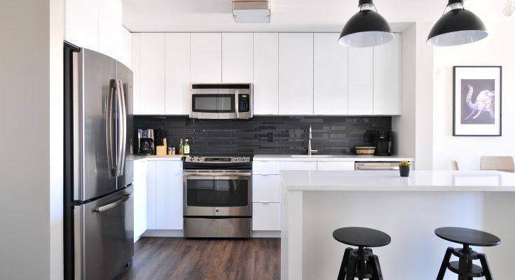 modern kitchen equipment