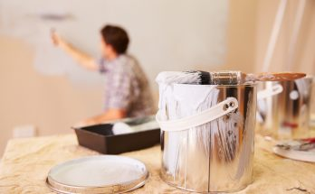 painting home walls