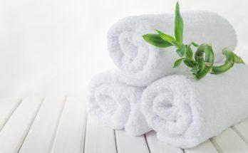 bathroom towel guide
